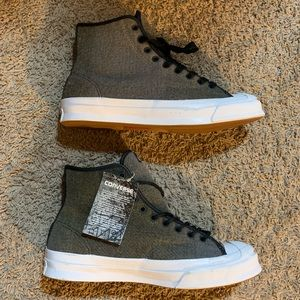 Converse Jack Purcell Hi Tops [Wool] Edition